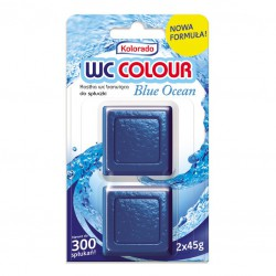 KOLORADO KOSTKA WC COLOUR OCEAN BLUE / NIEBIESKI A2