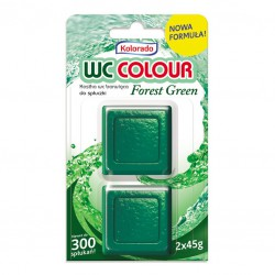 KOLORADO KOSTKA WC COLOUR FOREST GREEN / ZIELONY A2