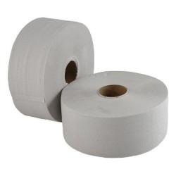 Papier toaletowy szary duża rolka a`12