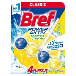 BREF Power Aktiv Zawieszka do WC - Soczysta cytryna