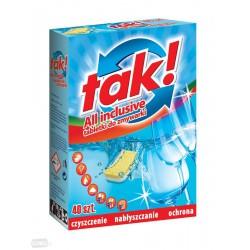 Tabletki do zmywarki TAK! op.40szt.