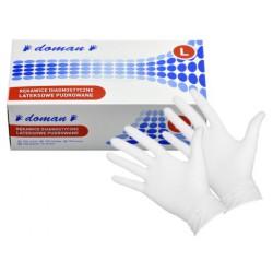 Rękawiczki Lateksowe L op.100