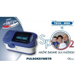 PULSOKSYMETR TM-PX30 Niebieski TECH-MED